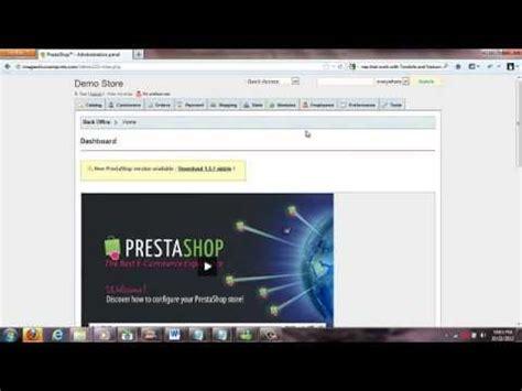 tutorial prestashop youtube prestashop tutorial adding subcategories and products