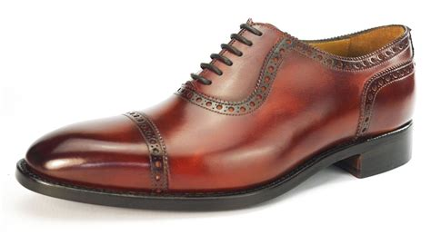 santos shoes carlos santos all leather welted handmade mens lace up