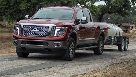 new nissan truck diesel nissan titillates with new diesel titan takes home truck