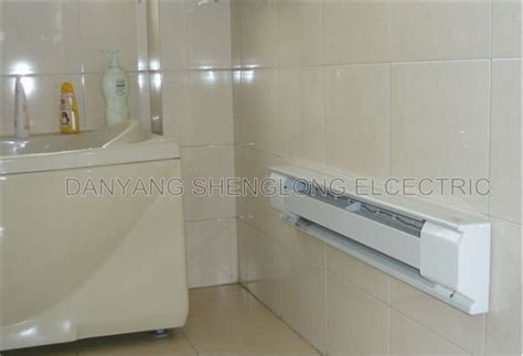 bathroom baseboard heater kitchen and bathroom series automatic electric convection