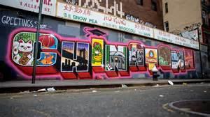 Nyc Wall Murals smart crew reps chinatown for latest neighborhood mural