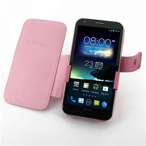Leather Asus Padfone 2 asus padfone 2 leather flip cover petal pink pdair