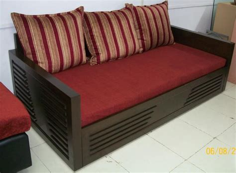 wooden sofa bed wooden sofa cum bed developers in mumbai