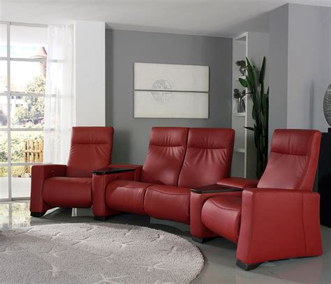 sofa cinemas home cinema recliner sofa with footrests wharfside furniture