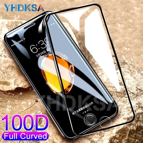 curved protective tempered glass    iphone