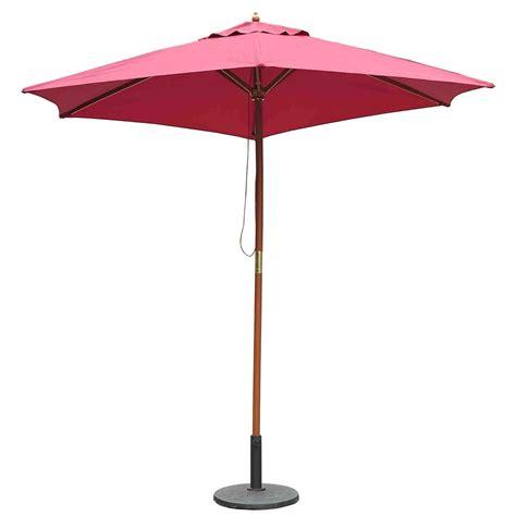 Sun Umbrellas For Patio Outsunny 8 2 X 7 4 H Bamboo Wooden Market Patio Sun Umbrella Garden Parasol Outdoor