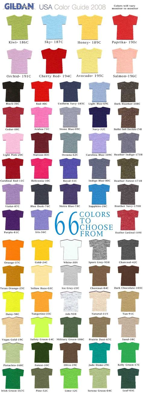 gildan colors t shirt colors gildan t shirts a way to promote