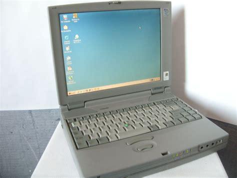 vintage toshiba satellite pro cdt laptop  charger pentium mmx mb gbhd windows