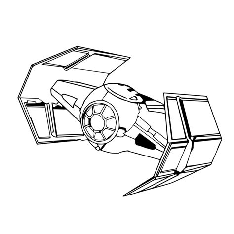 star wars tie fighter coloring page tie fighter outline coloring pages