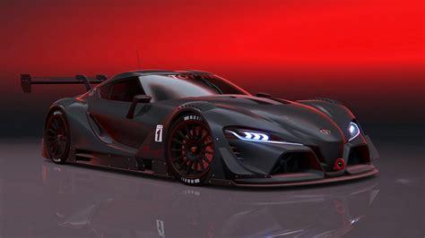 toyota supercar toyota ft 1 race speed motors supercars cars black