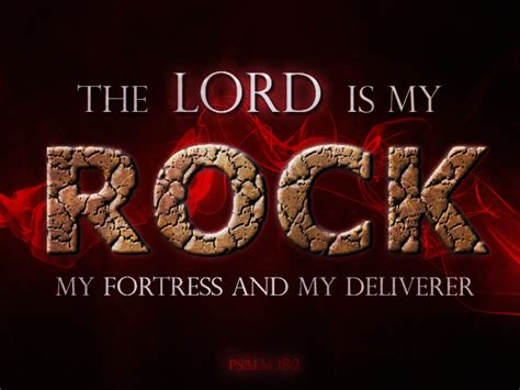 Superior Solid Rock Church Of God #5: The_lord_is_my_rock_by_christsaves-d74tht3.png