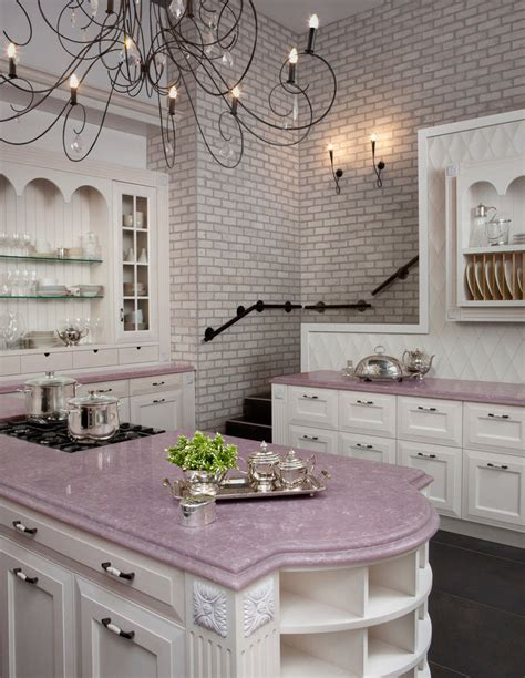 pink and white kitchen pictures photos and images
