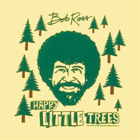 bob ross painting a happy tree happy trees lynne meredith golodner