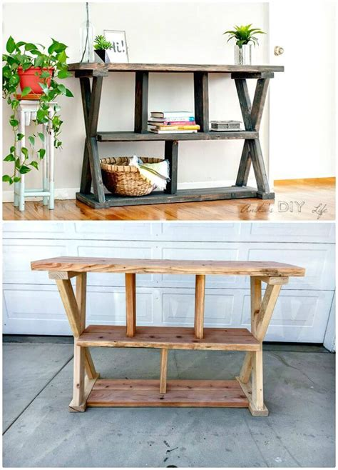 How To Make Your Own Entryway Table