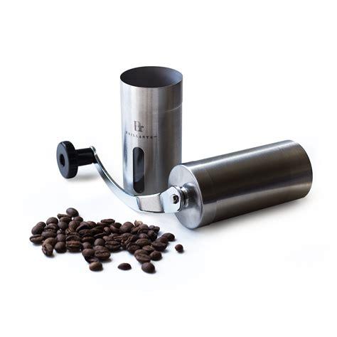 Coffee Grinder Manual brillante br mcg ss1 manual burr coffee grinder