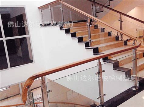 Handrails On Stairs Brushed Stainless Steel Staircase Handrail Guardrail