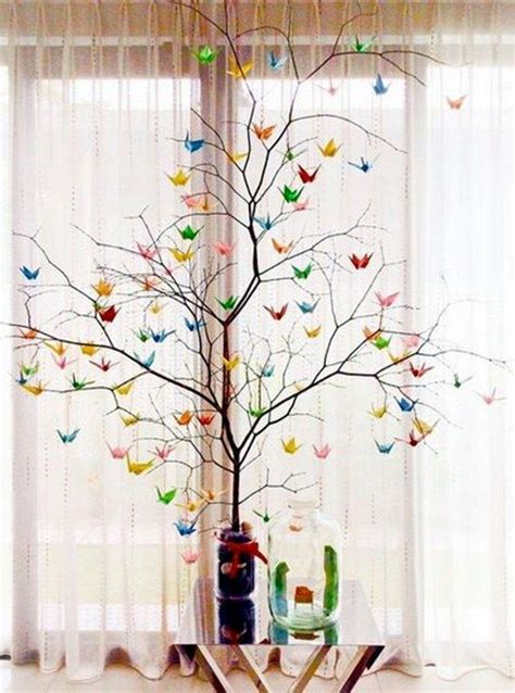 Origami Bird Decorations - 45 origami wedding ideas origami decoration