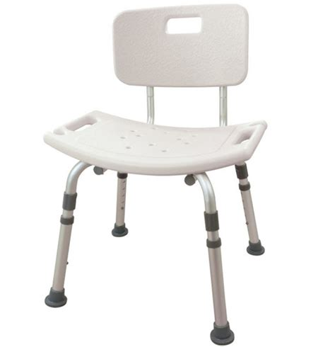 bath and shower chairs adjustable bath and shower seat with back
