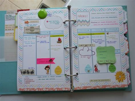Handmade Planners - custom templates in filofax by kraft