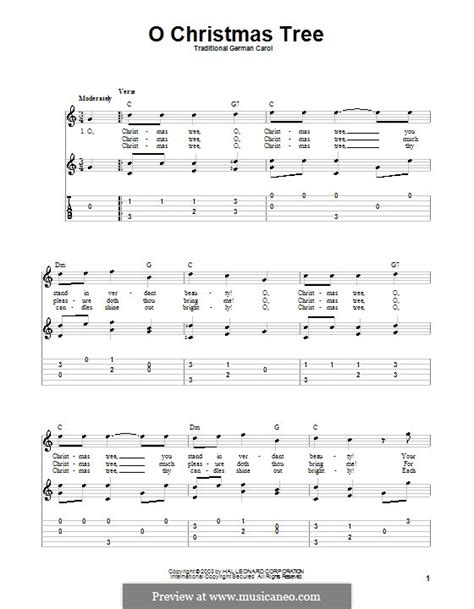 o christmas tree by folklore sheet music on musicaneo