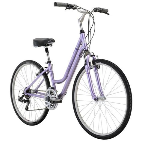 comfort hybrid bike diamondback women s vital 2 700c 21 speed comfort hybrid