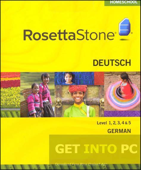 Rosetta Stone Deutsch | rosetta stone german with audio companion free download