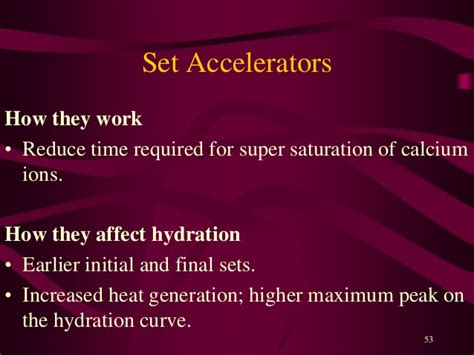 set of hydration of ions hydration of cement