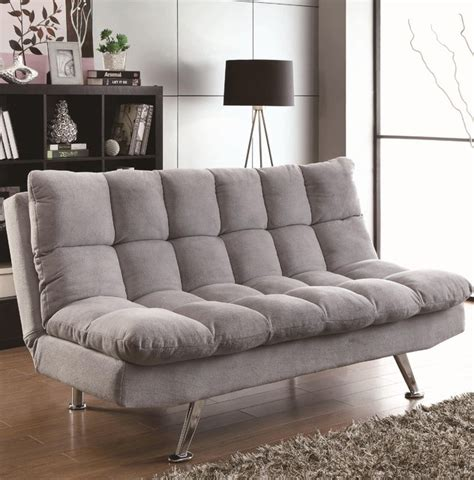 light grey sofa bed coaster light grey sofa bed 500775 modern sofas