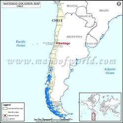 chile location on world map santiago where is santiago location of santiago in chile map