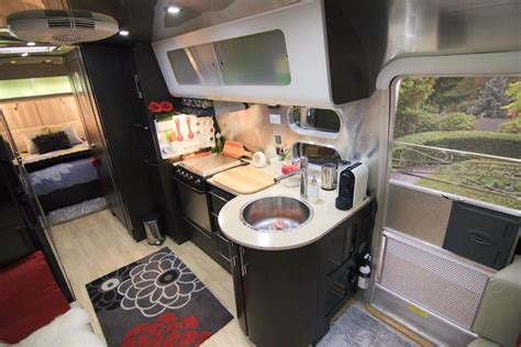Decorating Travel Trailers by Inside Our Airstream Travel Trailer Rv S Motor Homes