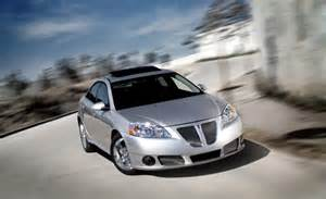Pontiac G6 Gxp Sedan Car And Driver