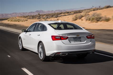 chevrolet malibu   test review motor trend