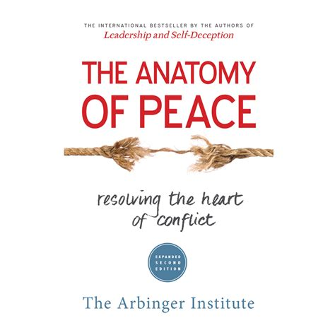 the anatomy of peace resolving the of conflict a