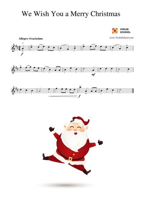 merry christmas   happy  year violinschoolcom