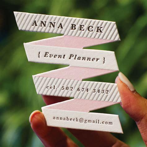 unique postcards ribbon style letterpress business card jukeboxprint com