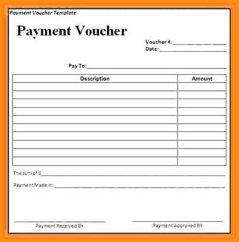 receipt voucher template word 9 payment voucher template odr2017