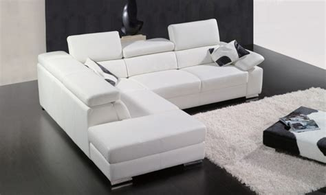 couch height low height sofa modern low profile sectional sofa in white