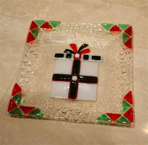 17 best images about christmas fused glass on pinterest