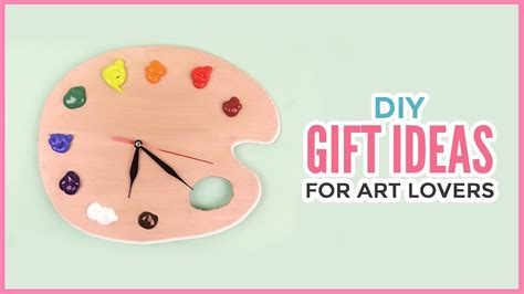 creative diy gift ideas for art lovers christmas birthday