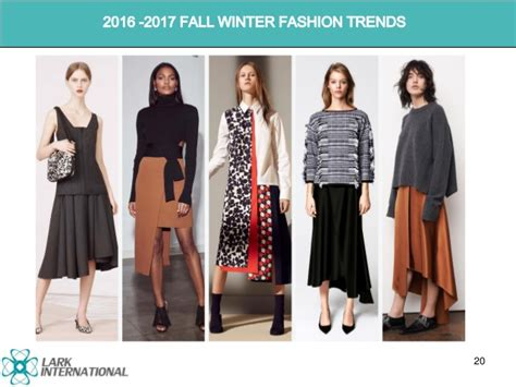 upcoming trends 2017 trend report 2016 2017 fall winter