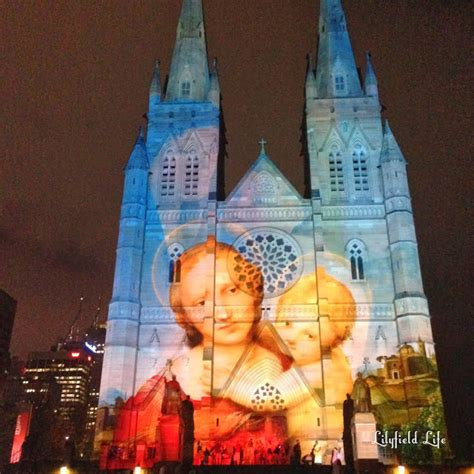 christmas with cece the devine life lilyfield life christmas lights at st mary s cathedral