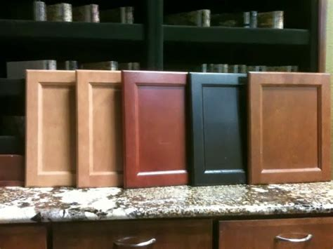 cabinet stain colors left to right mirage cinnamon twilight clove my lennar interior