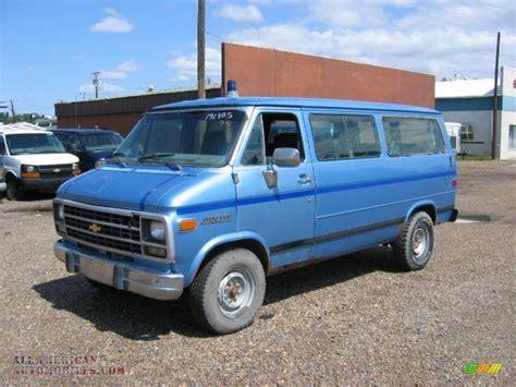 how cars run 1995 chevrolet sportvan g30 on board diagnostic system 1995 chevrolet chevy van g30 sport van in light stellar blue metallic 192385 all american