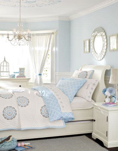 Light Blue And White Bedroom Decorating Ideas by Gray Pottery Barn Rooms Description Find