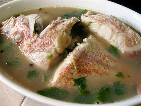 Minyak Ikan Untuk Ayam Bangkok resepi sup ikan merah resepi bonda