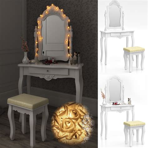 bedroom vanity table with mirror dressing table stool makeup table storage mirror bedroom