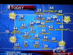 weather colorado map panoramio photo of colorado tv weather map