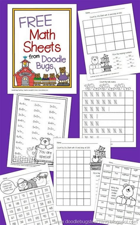 doodlebugs teaching doodle bugs teaching grade rocks free math