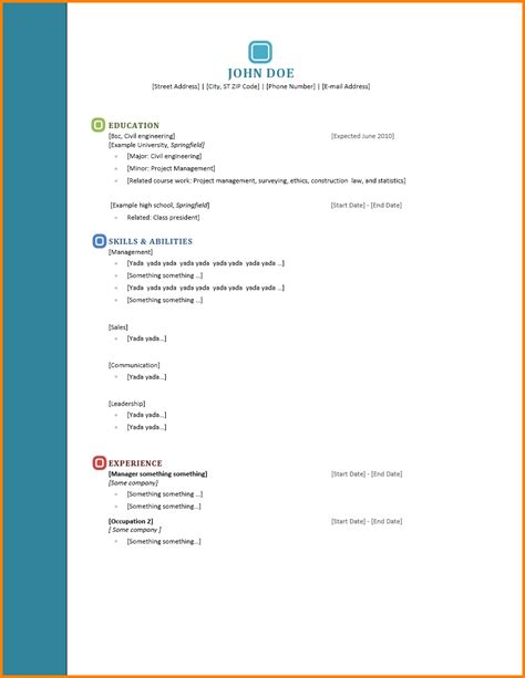 reference page template resume 28 images references