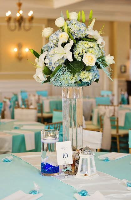 dairing weddings brian s wedding teal ivory themed flowers by